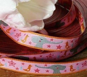 GoodFriends-sierbandje, roze/oranje
