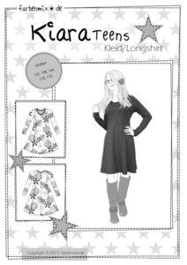 KIARA Teens, patroon van een getailleerd jurkje voor tieners