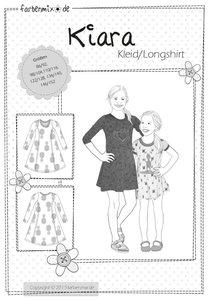 KIARA, patroon van een getailleerd jurkje