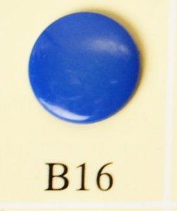 minisnaps blauw glanzend