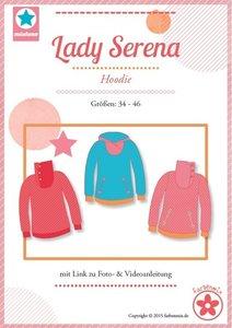 Lady Serena, een patroon van een shirt in de maten 34 t/m 46