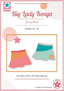Big Lady Kenya, rok in de maten 46, 48, 50, 52, 54, 56, 58