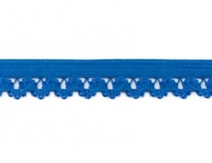 zacht sierelastiek met schulprand, (jeans)blauw