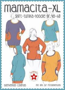 XL Mamacita, patroon van een shirt
