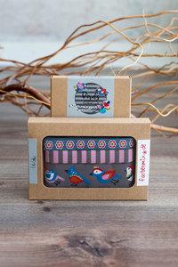 Birds grijs – Designer collectie by Lila-Lotta