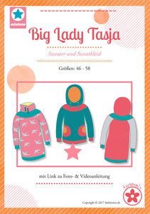 Big Lady Tasja, sweater en sweatjurk in de maten 46 t/m 58