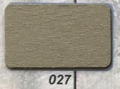 3 meter tricot biaisband licht taupe/legergroen