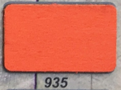 3 meter tricot biaisband oranje