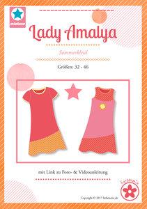 Lady Amalya, patroon van een zomerjurk in de maten 32 t/m 46