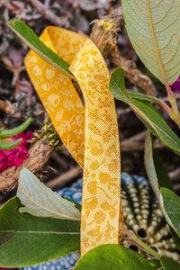 Forest Mini-Sweets geel, sierbandje 12 mm