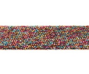 glitterband 25 mm, multicolor