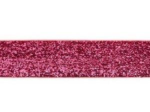 glitterband 25 mm, rfuchsia