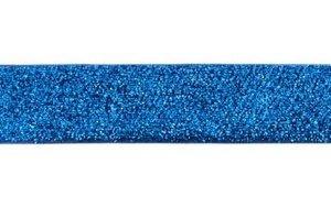 glitterband 25 mm, blauw
