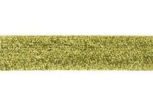 glitterband 25 mm, lime