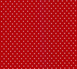 Verena: helder rood met witte stippen