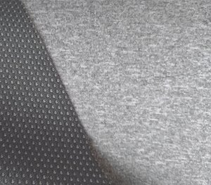 Borax = dunne softshell grijs gemêleerd: wind-, waterdicht en ademend!