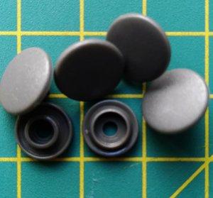 kleine snaps grijs MAT /B39M16