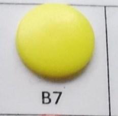 kleine snaps geel MAT /B7M16