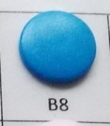kleine snaps fel blauw MAT /B8M16