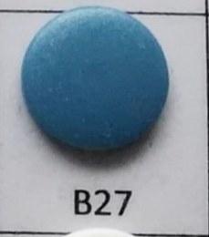 kleine snaps petrol MAT /B27M16
