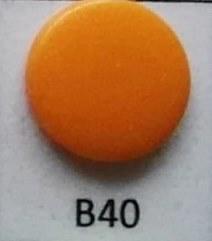 kleine snaps licht-oranje MAT /B40M16