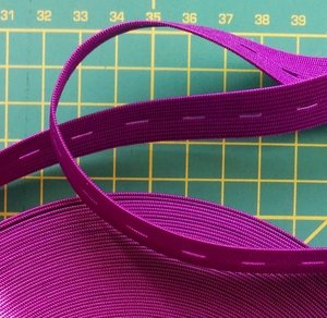 knoopsgatenelastiek paars 1,8 cm