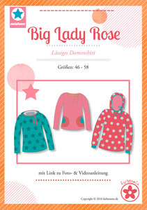 Big Lady Rose, comfortabel shirt voor dames (introductiekorting)