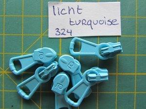 runnertje licht turquoise 4mm
