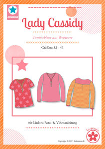 Lady Cassidy, blouse voor dames in de maten 32 t-m 46