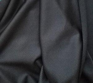 sporttricot high-tech mesh: zwart