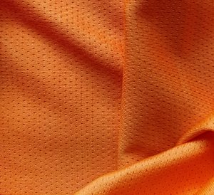 sporttricot high-tech mesh: oranje