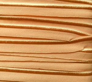 elastisch paspelband, licht zalmoranje-huidskleur
