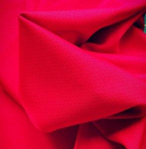 sporttricot high-tech mesh: rood