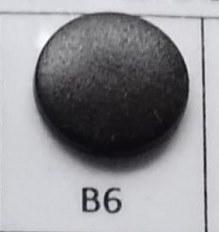 kleine snaps diep donkerbruin MAT /B6M16