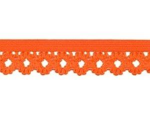 elastisch kantje, oranje