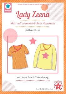 Lady Zeena, patroon van een shirt van MiaLuna (introductiekorting)