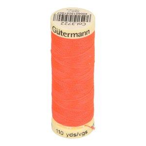 Gütermann allesnaaigaren 100 meter!! neon koraalroze, kleur 3722