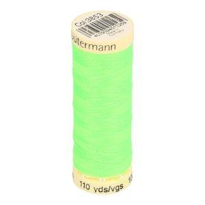 Gütermann allesnaaigaren 100 meter!! neon groen, kleur 3853