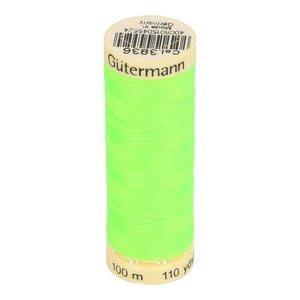 Gütermann allesnaaigaren 100 meter!! neon lichtgroen, kleur 3836