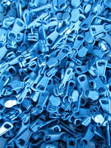 runnertje helder blauw 4mm