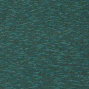 Nick: gemêleerde tricot met een heeeel fijn streepje:  groen een klein beetje neigend naar petrol