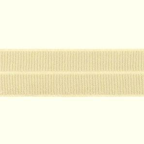 zand: omvouwelastiek 2 cm breed met ribbeltje