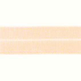 zalmroze: omvouwelastiek 2 cm breed met ribbeltje