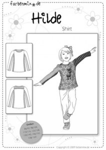 HILDE, shirtpatroon
