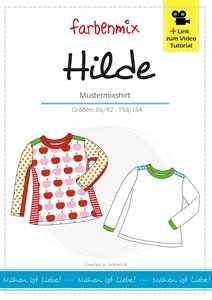 HILDE, shirtpatroon