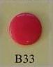 snaps rozerood glanzend/B33