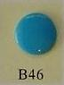 snaps donker turquoise glanzend/ B46