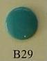 snaps jadegroen glanzend/ B29