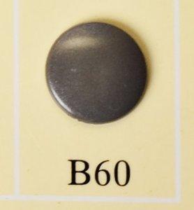 snaps donkerzilver glanzend/ B60