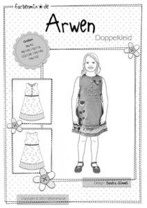 ARWEN, dubbele jurk